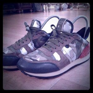 Other - Valentino Garavani camouflage 10 11 sneaker shoes